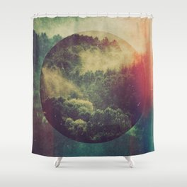 Fractions C02 Shower Curtain