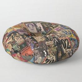 Rock n' roll stories II Floor Pillow