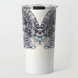 psychedelic fox Travel Mug