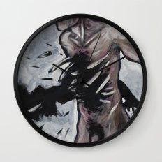 untitled (dead things 02) Wall Clock