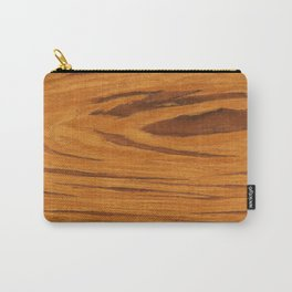 Teak Wood Carry-All Pouch