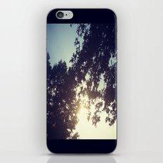 peak-a-boo sun iPhone & iPod Skin
