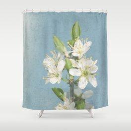Hawthorn pastel Shower Curtain