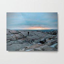 Halifax Sunset Metal Print