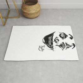 Put on a happy face Rug