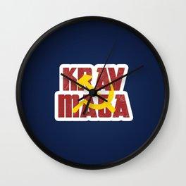 Krav Maga Russia Soviet Union Wall Clock