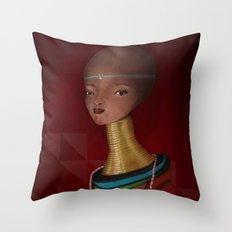 nude1 Throw Pillow