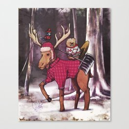 Most Canadian Picture Canvas Print