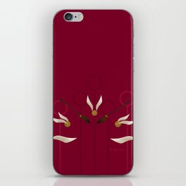 Catch the Snitch for Gryffindor iPhone Skin