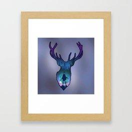 POTTER - PATRONUS ARTISTIC PAINT Framed Art Print