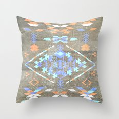 Native Aztec Throw Pillow