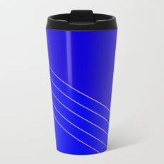 Victoria 4  Indigo Metal Travel Mug
