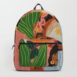 Hippie Girl Backpack