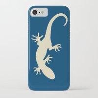 lizard iPhone & iPod Cases featuring Lizard by Abundance
