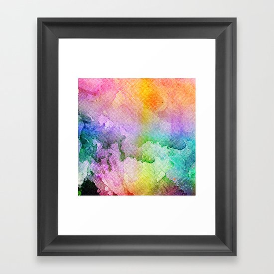 Vitamin Orchard Framed Art Print