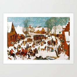 Massacre of the Innocents by Pieter Bruegel the Elder Art Print
