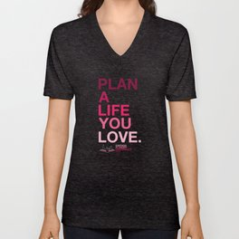 2020 Chicago Planner Conference - Plan A Life You Love Unisex V-Neck