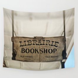 Librairie Bookshop Wall Tapestry