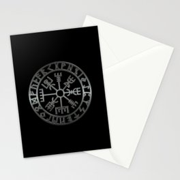 Vegvísir (Icelandic 'sign post') Symbol - REEL STEEL Stationery Cards