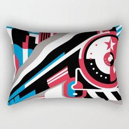 The Red Arrow Rectangular Pillow