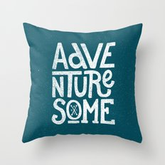 Adventuresome Throw Pillow