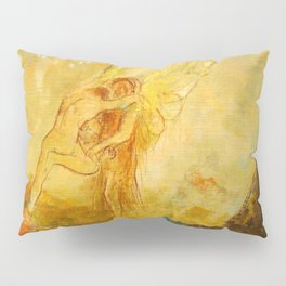 "Odilon Redon ""Jacob Wrestling with the Angel"" Pillow Sham"