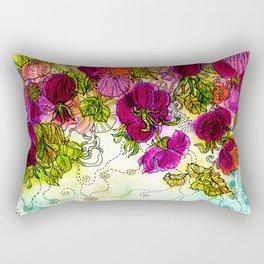 Dog-Rose. Autumn. Rectangular Pillow