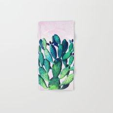 Cactus Three Ways #society6 #decor #buyart Hand & Bath Towel