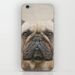 The face of a dreamer...! iPhone Skin