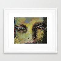 shiva Framed Art Prints featuring Shiva by Michael Creese