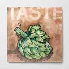 Taste (Artichoke) Metal Print