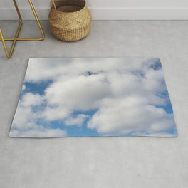 clouds of cotton Rug