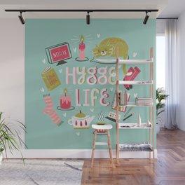 Cozy Hygge Life Wall Mural