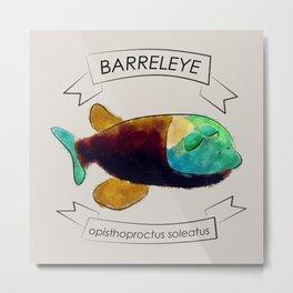 Barreleye Metal Print