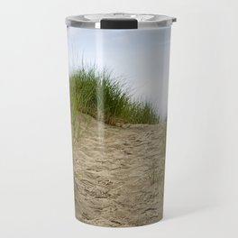 Trail over the Dune to the Summer Beach Travel Mug