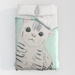 Derpy kitty  Comforters