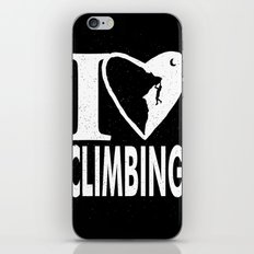 I love Climbing iPhone & iPod Skin