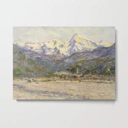 The Valley of the Nervia Metal Print