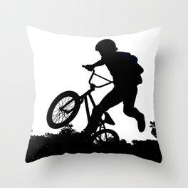 Sky Rider 2 Throw Pillow