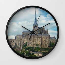 Saint Michel Castle Wall Clock