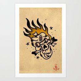 Skate Calaka Art Print