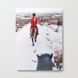 Follow tight Metal Print
