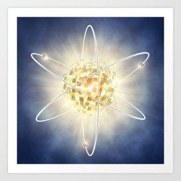 Nuclear power Art Print