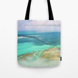 Overseas Scenic Florida Keys Tote Bag