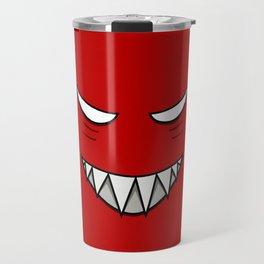 Evil Grin Evil Eyes Travel Mug