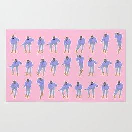 Hotline bling (pink) Rug