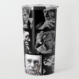 BUKOWSKI - 4 faces Travel Mug