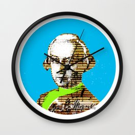 Mozart Kugel Blue Wall Clock