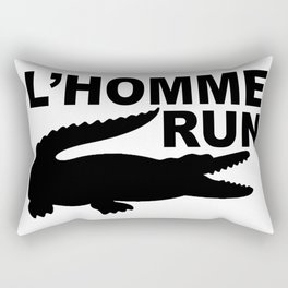 L'Homme Run Rectangular Pillow