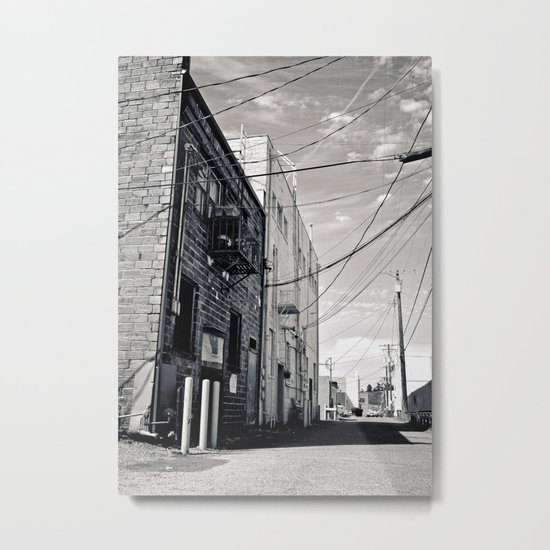 Grit city alley Metal Print